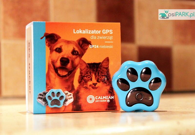 CALMEAN Pet Tracker lokalizator GPS dla zwierząt