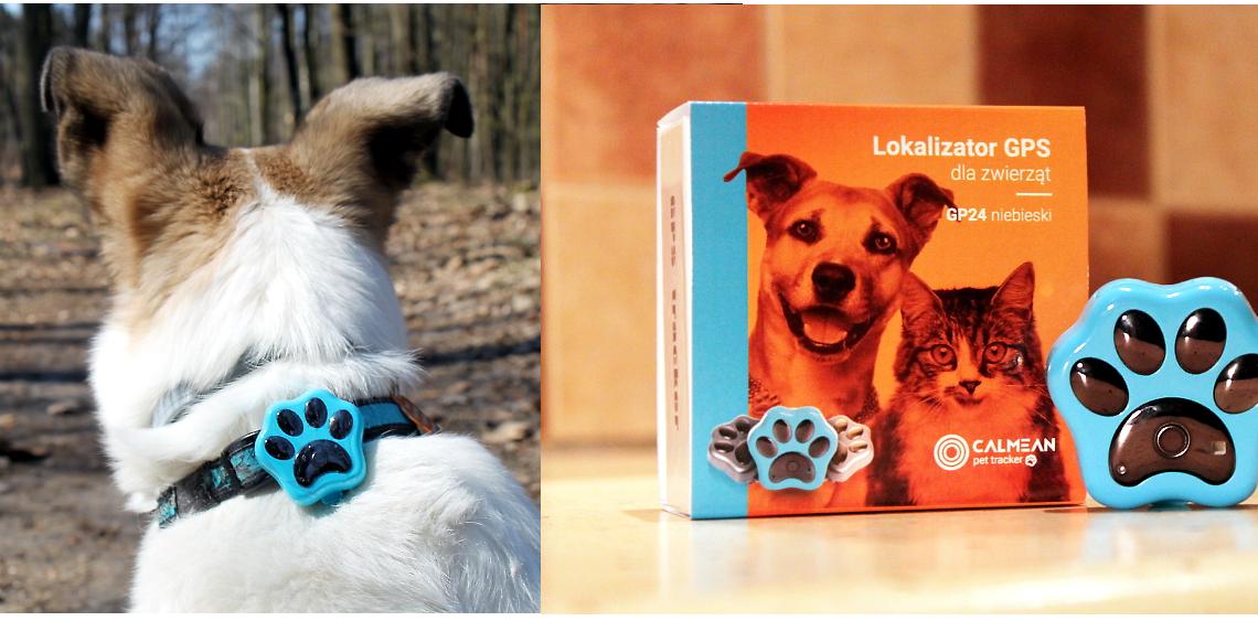 CALMEAN Pet Tracker lokalizator GPS dla zwierząt [