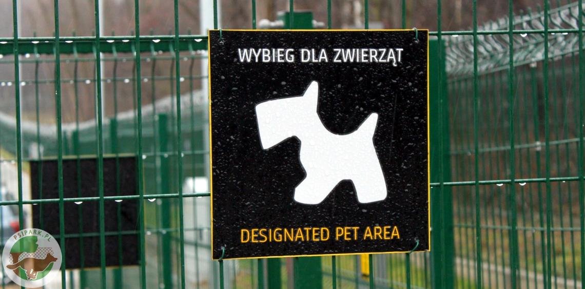 Wybieg dla psów Kraków Airport Port Lotniczy Balice