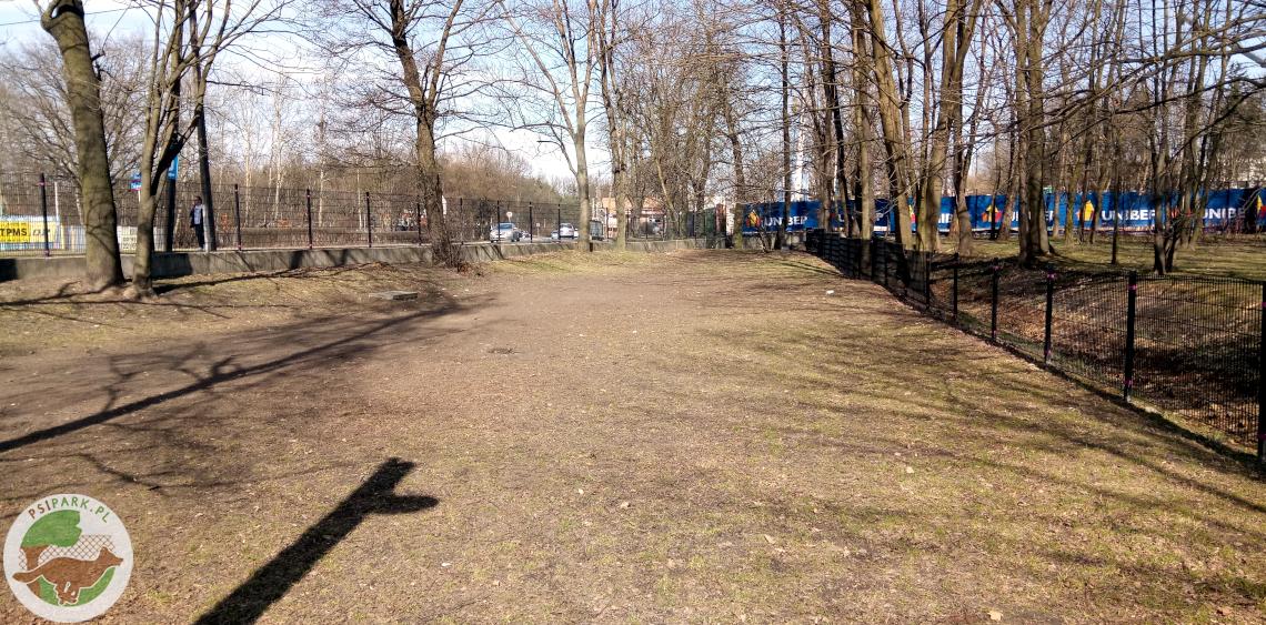 Wybieg dla psów Warszawa Park Henrykowski Białołęka