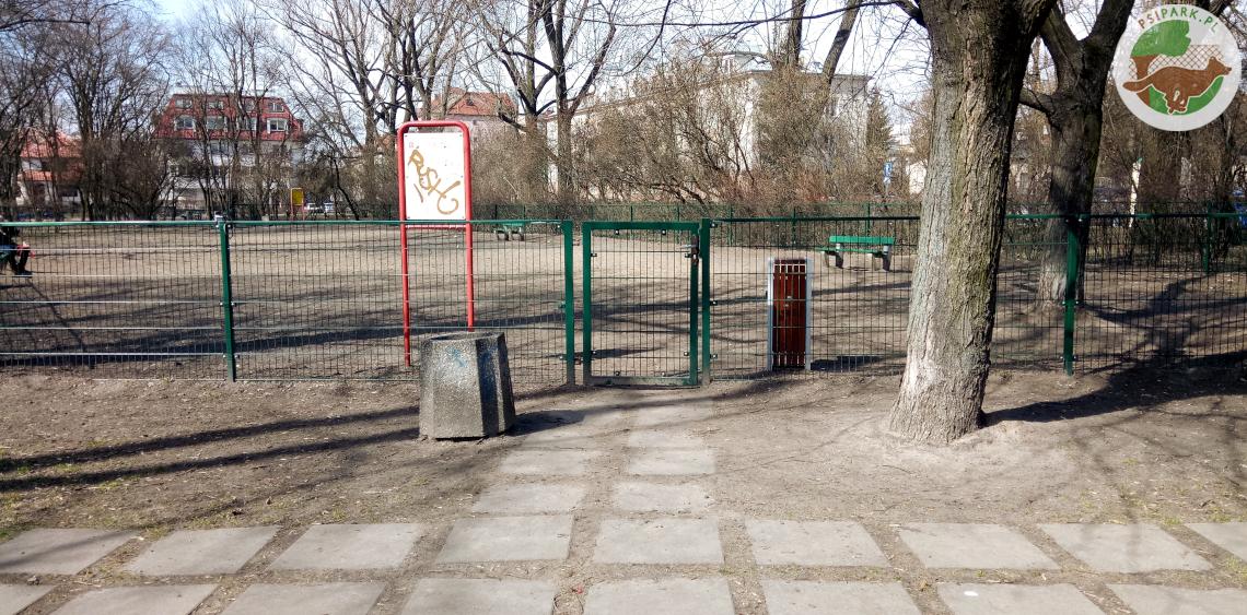 Wybieg dla psów Warszawa Park im. płk. Szypowskiego Leśnika Praga-Południe