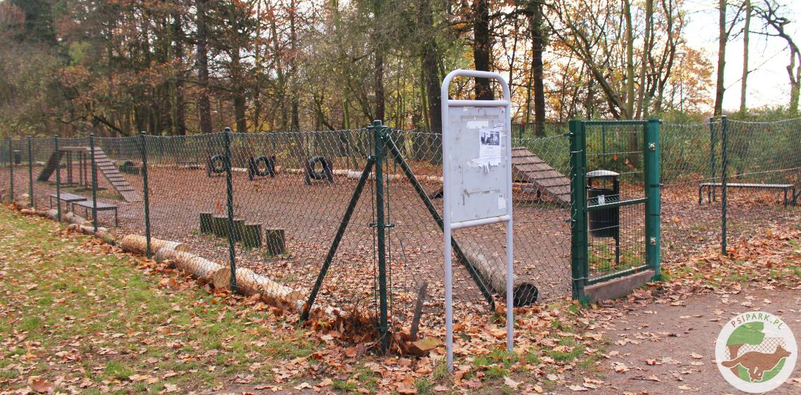 Wybieg dla psów Wrocław Park Grabiszyński Grabiszyn