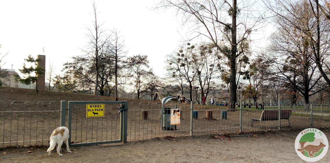 Wybieg dla psów WrocławPark Słowiański Wzgórze Słowiańskie Śródmieście