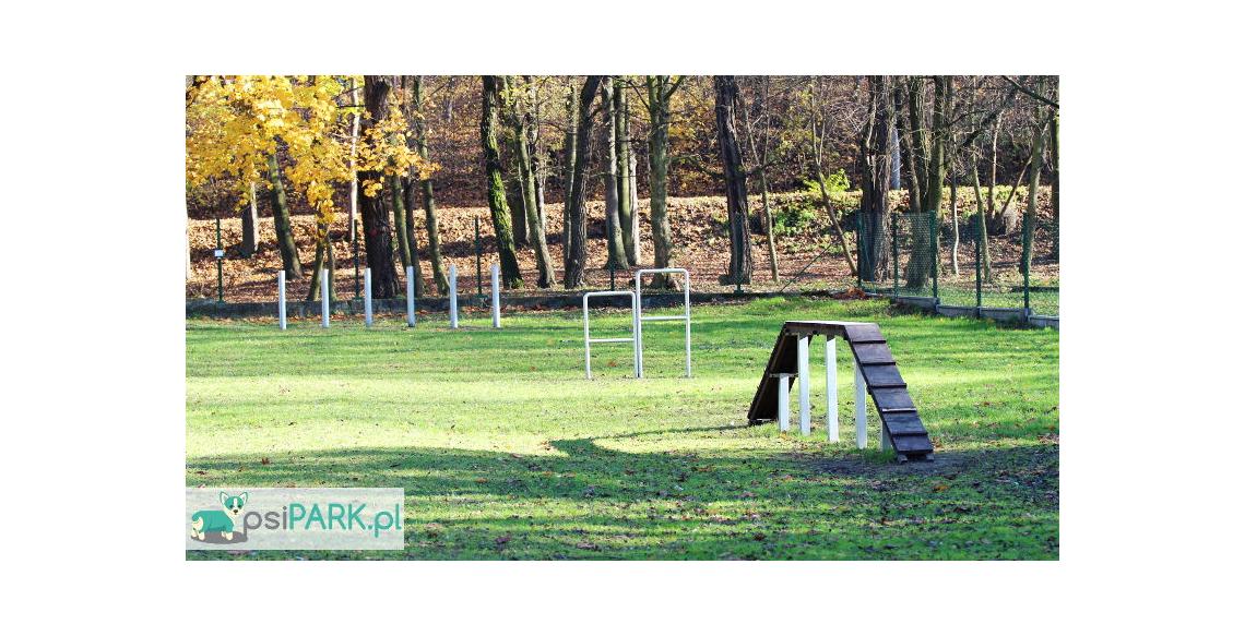 Wybieg dla psów Czeladź Rexarium Park Jordana