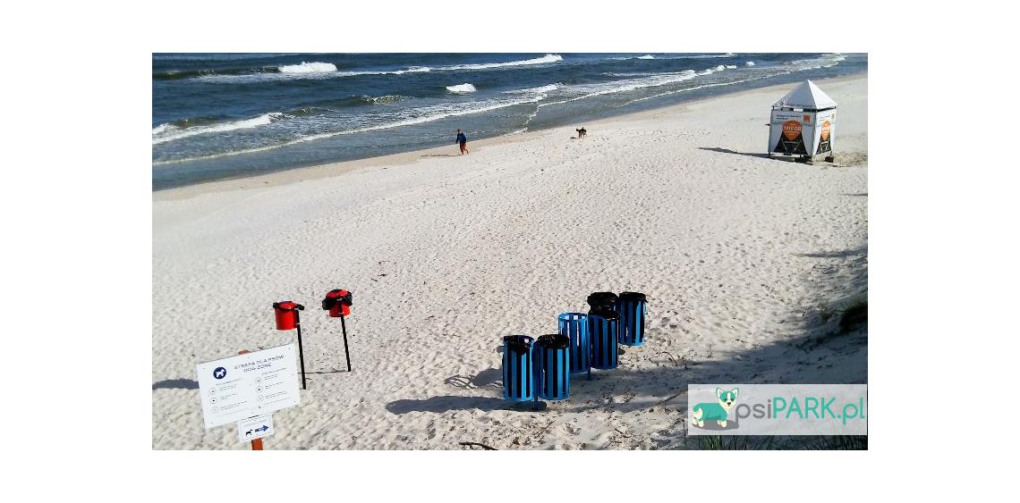 plaże dla psów dębki białogóra karwieńskie błoto drugie