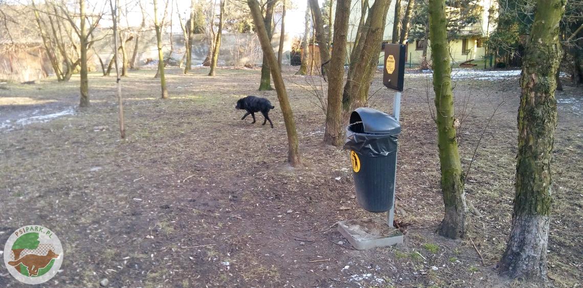 Wybieg dla psów Katowice Orkana Brynów