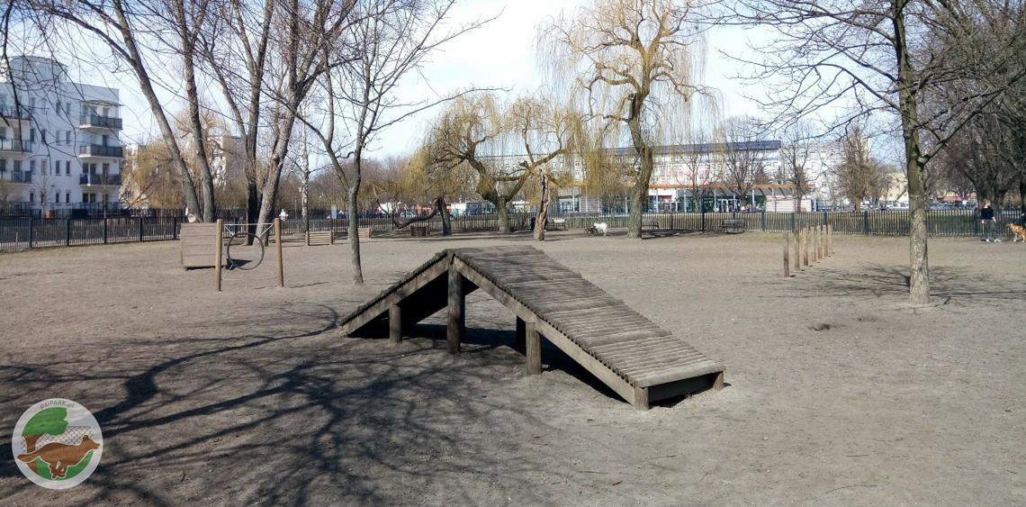 Wybieg dla psów Park Polińskiego Warszawa psiPARKpl