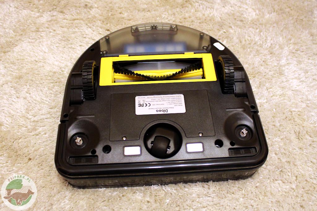 robot sprzątający do psiej sierści