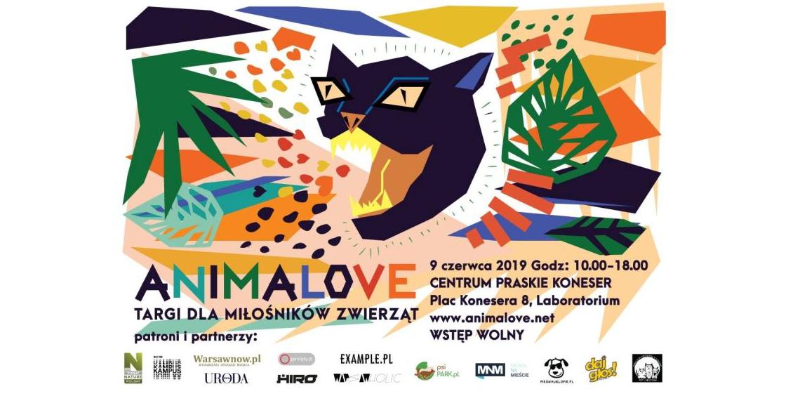 Animalove psiPARK.pl plakat