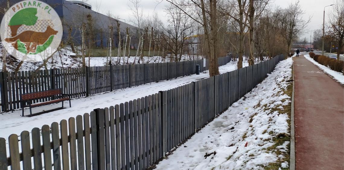 Wybieg dla psów Katowice Psia Radość Techników Dąbrówka Mała Ikea